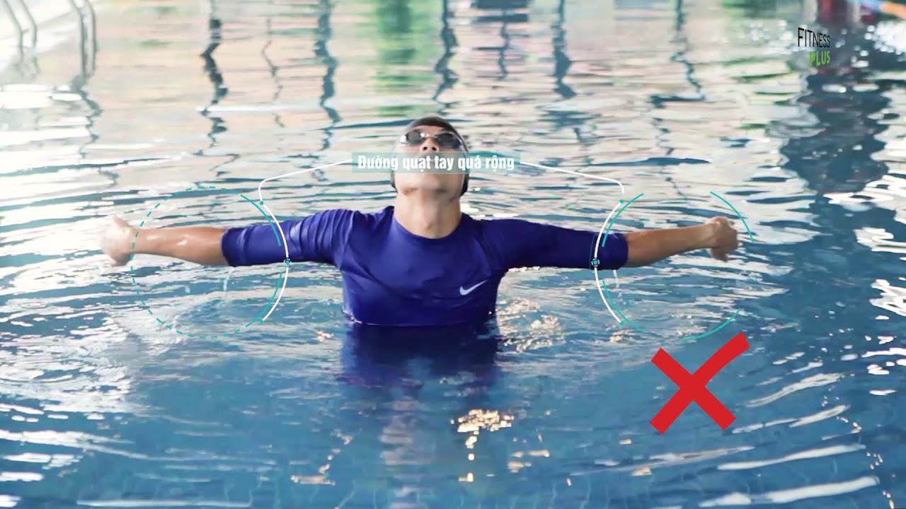 Nhũng lỗi cơ bản khi học bơi ếch