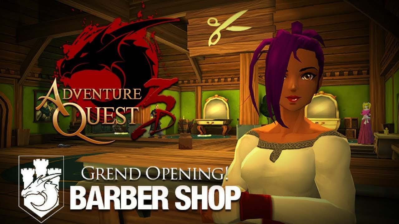AQ3D New Hair! New Quests! DUAL WIELD Weapon?! AdventureQuest 3D