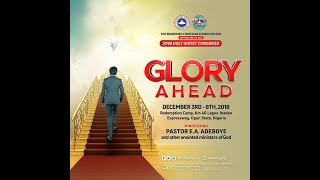 RCCG HOLY GHOST CONGRESS 2018 DAY 4  EVENING SESSION
