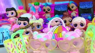 Куклы Лол Мультик! Конкурс красоты для девочек и Мальчиков Лол! Как зарабатывают Куклы Лол
