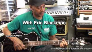 50+ Guitar Songs That You Can Learn With 4 Chords Or LESS EricBlackmonMusicHD