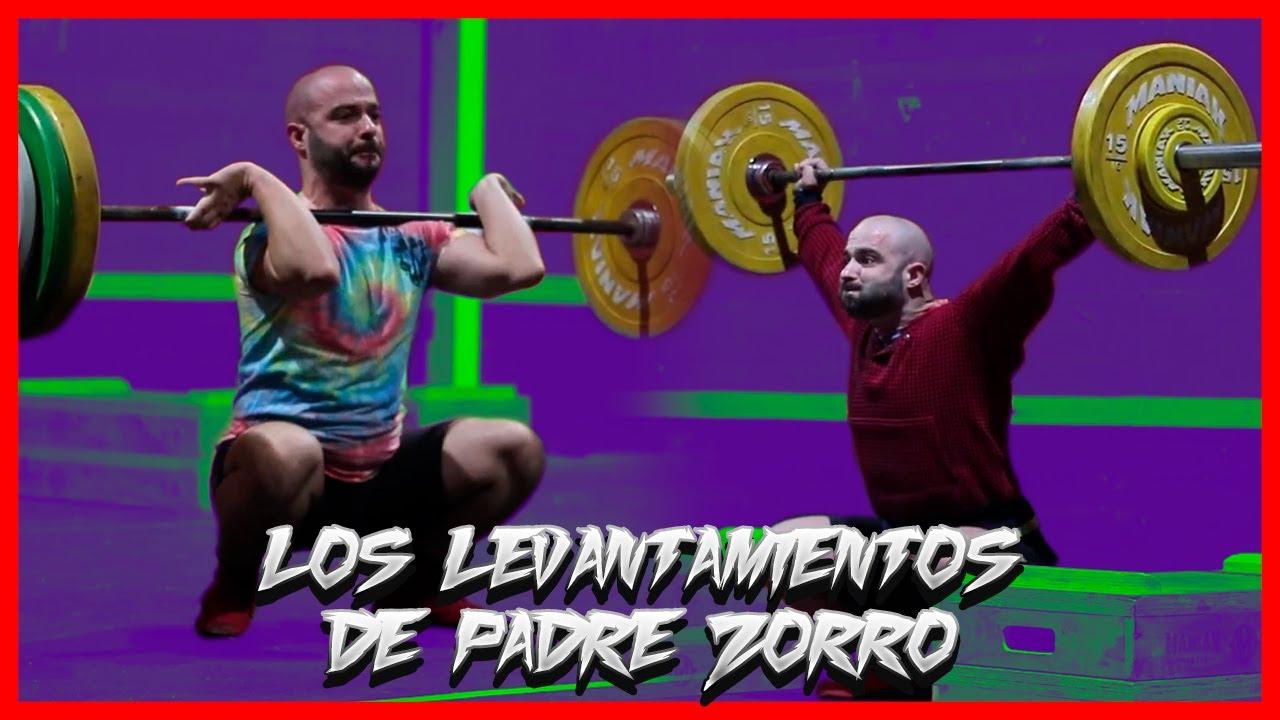 ASÍ van 👉 los LEVANTAMIENTOS OLÍMPICOS de PADRE ZORRO.