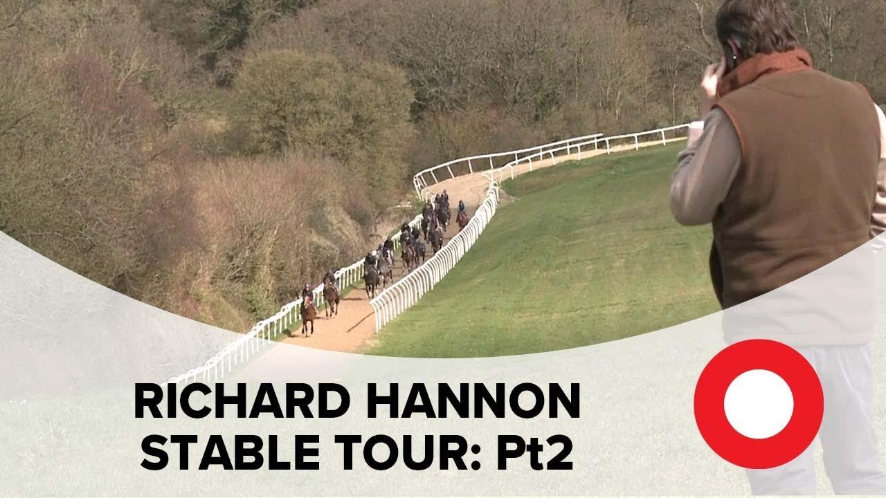 Richard Hannon Stable Tour 2021