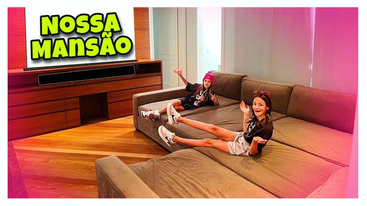 MOSTRANDO NOSSA PRIMEIRA MANSÃO (PARTE II) - MILLENA E MANU MAIA