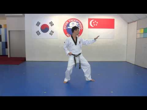 Green Belt Pattern by Hyun TKD Academy