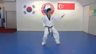 Green Belt Pattern by Hyun TKD Academy