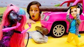 Подарок для Френки Штейн - Мультики с куклами Монстр Хай