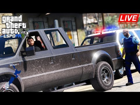 GTA 5 - LSPDFR New Zealand LIVE - Holden Colorado Crew Cab (GTA 5 Police Mod for PC)