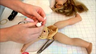 American Girl Makeover Tutorial {part 1}