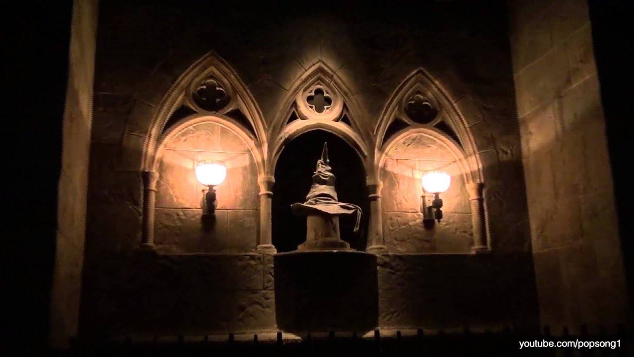 Harry Potter And The Forbidden Journey 2010 Draco Harry Potter And The Forbidden Journey Complete Pov Ride Experience Wizarding World Of Harry Potter Youtube