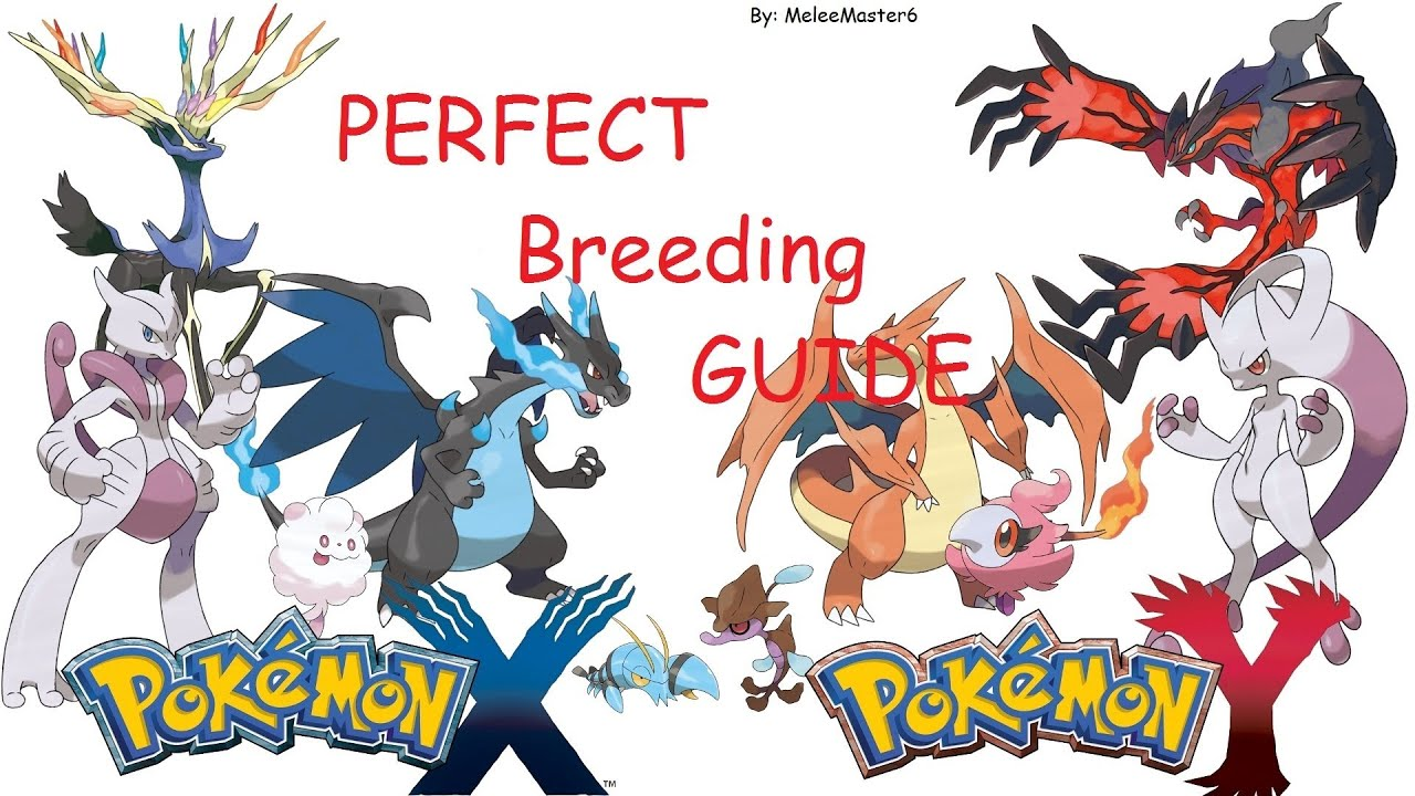 Pok mon x y perfect breeding guide youtube for Table x and y