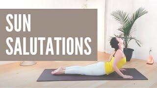 Sun salutation 12 rounds - Yoga Cardio