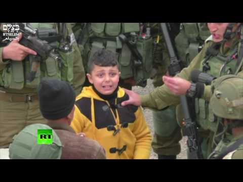 IDF grab 8yo Palestinian boy, drag him away 'to find stone-t