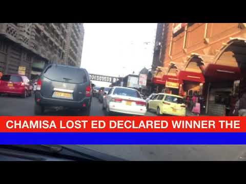 The mood in Harare after ED Mnangagwa was declared winner
