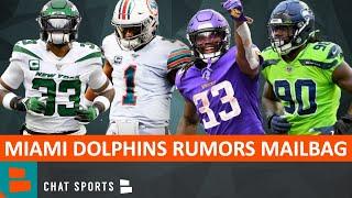 Dolphins Rumors Mailbag: Dalvin Cook Trade? Sign Jadeveon Clowney? Tua Starting? Jamal Adams Trade?