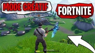 LE NOUVEAUX MODE CRÉATIF FORTNITE !! Crée TON île Fortnite !!