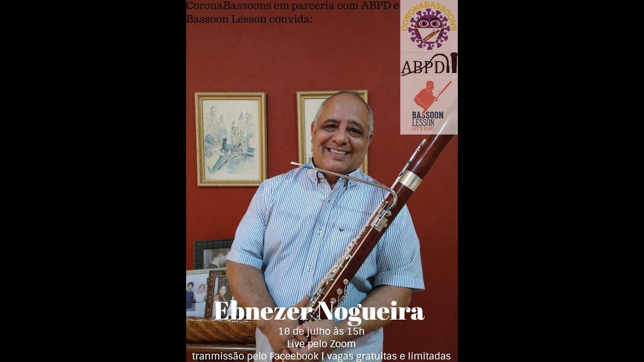 Live com o professor Ebenezer Nogueira