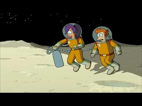 OzChomp Futurama S01E02 - Dark Side Of The Moon