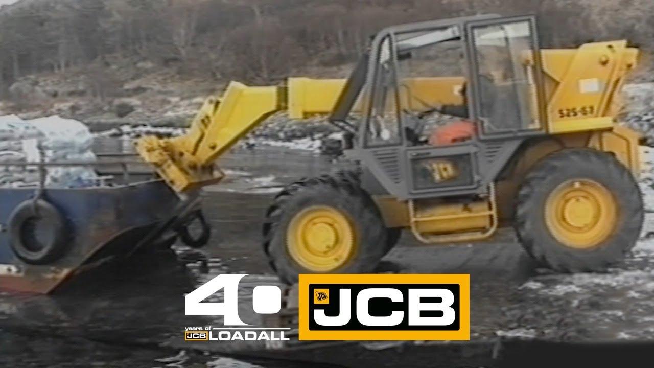 JCB Fish Farming - Celebrating 40 Years of Loadall