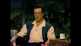 Sylvester Stallone @ The Tonight Show With Johnny Carson