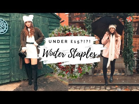 MUST HAVE WINTER STAPLES UNDER £15!!! FAUX FUR COATS?!?! 😱 Testing Dear Lover!