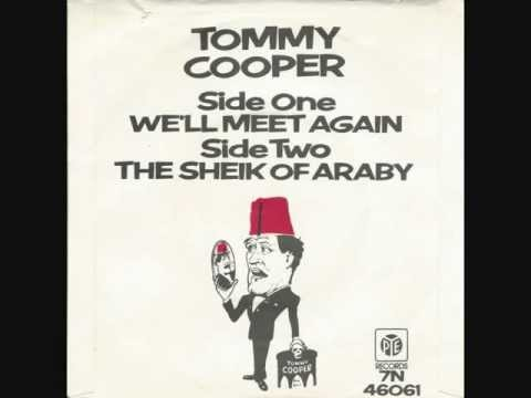 TOMMY COOPER - 'The Sheik Of Araby' - 1978 45rpm