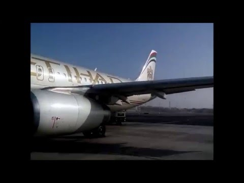 Flight AMM-AUH, AUH-DFW ( Etihad Airways )