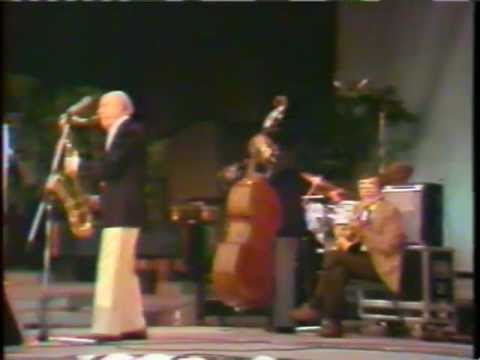 CHICAGO JAZZ FEST 1985 : Bud Freeman, Stu Katz, Barrett Deems