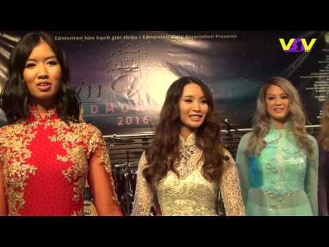 Vietbesttv- Miss Vietnam Edmonton, 2016
