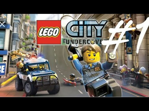 Wir sind Chase Mcain Lego City undercover #1