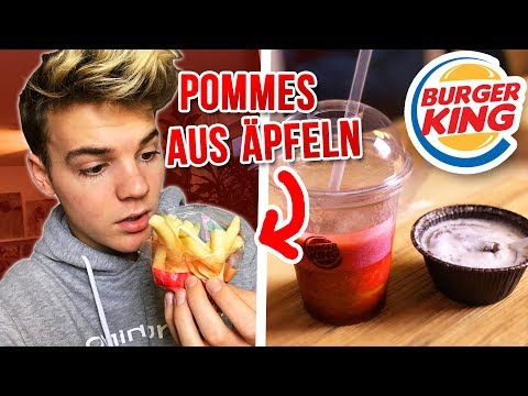 Burger King Produkte die NIEMAND kennt! 😳