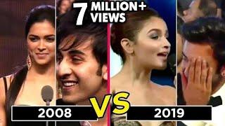 Alia Bhatt Deepika Padukone PROPOSE Ranbir Kapoor On Stage  Deepika VS Alia