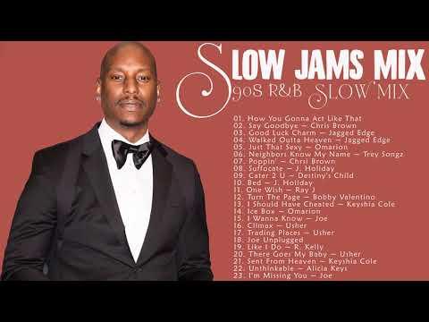 BEST 90S - 2000S SLOW JAMS MIX - Tyrese,  Usher, Chris Brown, R  Kelly, Beyonce, Joe
