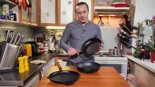 Какие сковородки лучше. Обзор сковородок. Как выбрать сковороду.