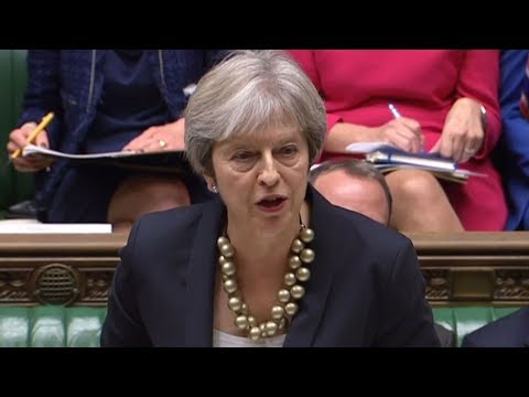 Theresa May updates MPs on the state of Brexit negotiations