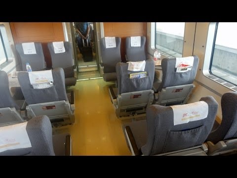 Shanghai - Fuzhou in First Class Chinese High-Speed Train - Part 2