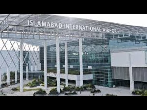 New Islamabad airport view