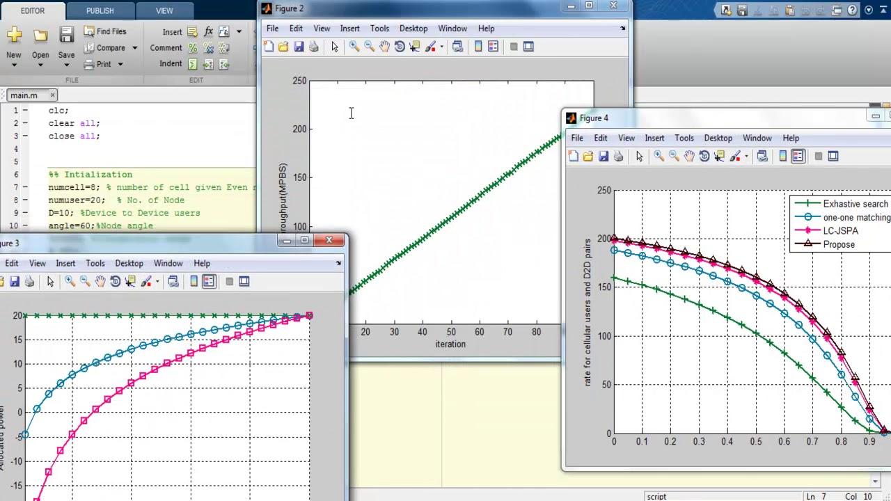 D2D Simulator Matlab Projects | D2D Simulator Matlab Thesis | D2D Simulator  Matlab Projects Code
