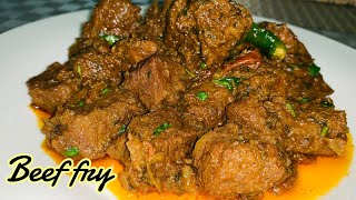 Beef Fry Recipe | Beef Roast Recipe | Simple and Easy Beef Fry