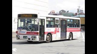 西鉄バス北九州 戸畑5406 KC-UA460LSN(74戸畑渡場→和布刈)