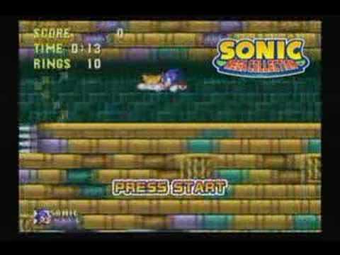 Sonic Mega Collection Intro GC