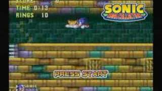 Sonic Mega Collection Intro GC