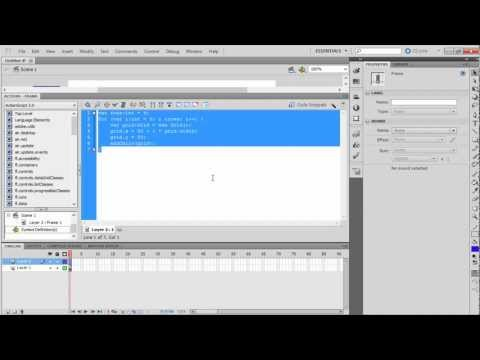 How to Create Grid in Adobe Flash