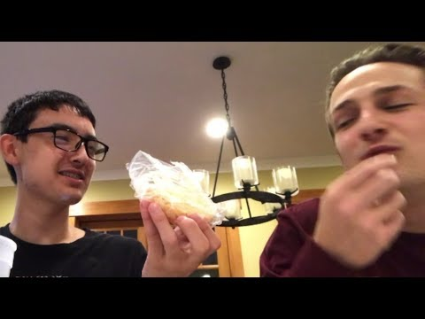 Eating Ghost Pepper Cheese With My Cousin