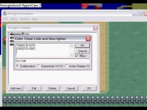 pokemon <b>fire red cheats codes</b> need for no$gba - YouTube