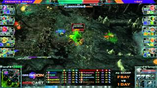 DreamHoN Oceanic Qualifier Grand Finals - fray vs 1Day game 1