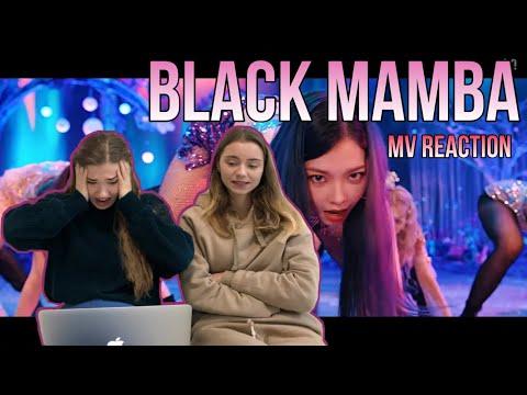 [Refractory Gears] aespa 에스파 'Black Mamba' MV REACTION | РЕАКЦИЯ