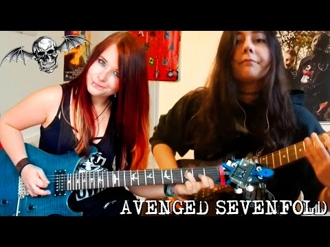 AVENGED SEVENFOLD - Bat Country [GUITAR COVER] with SOLO | Jassy J & Juliana Wilson