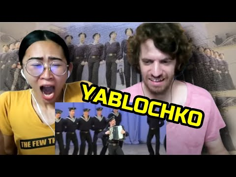 "Russian Dance ""Yablochko"" - Igor Moiseyev Ballet | Couple Reacts"