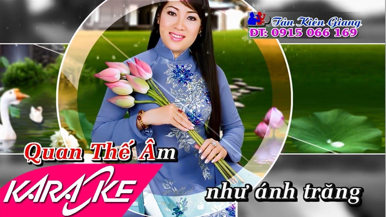 Về Lạy Quan Âm Karaoke - Diệu Thắm | Nhạc Phật Giáo Karaoke Beat